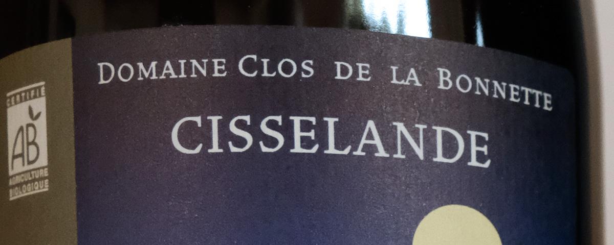 Côte du Rhône biologique Cisselande du Clos de la Bonnette