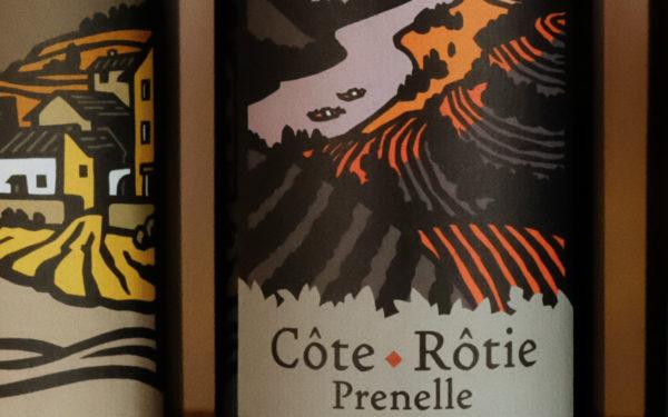 Prenelle, Côte Rôtie biologique du Clos de la Bonnette à Condrieu
