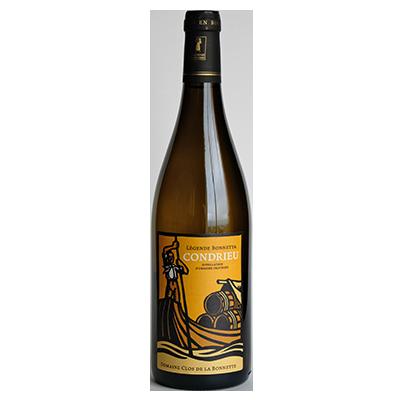 Bouteille de vin Condrieu biologique Légende Bonnetta