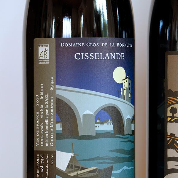 Cisselande Côtes du Rhône biologique Clos de la Bonnette