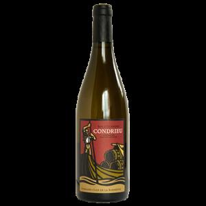 Bouteille de vin Condrieu biologique Roc d'Ucarisse