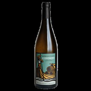 Bouteille de vin Condrieu biologique Roches d'arbuelle