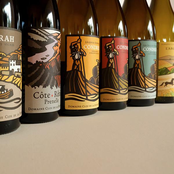 La gamme de vins biologiques du Clos de la Bonnette