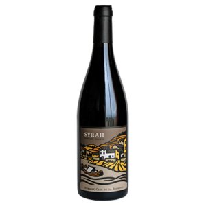 Bouteille de vin Syrah biologique vieilles vignes