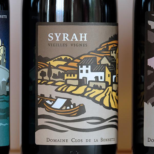 Vieilles Vignes Côtes du Rhône biologique du Clos de la Bonnette