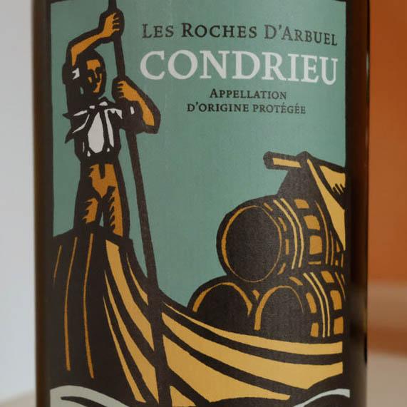 Condrieu, vin biologique du clos de la Bonnette