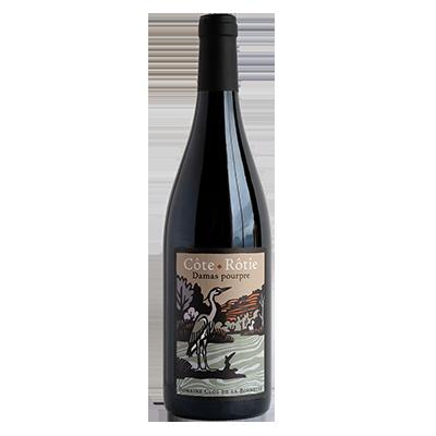 Côte-Rôtie Damas Pourpre, vin biologique du clos de la Bonnette