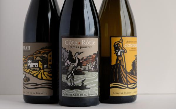 Côte-Rôtie Gamme Damas Pourpre, vin biologique du clos de la Bonnette